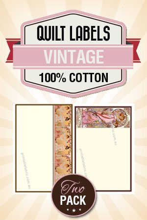 photograph relating to Printable Quilt Labels called Quilt Label Classic Artwork Deco