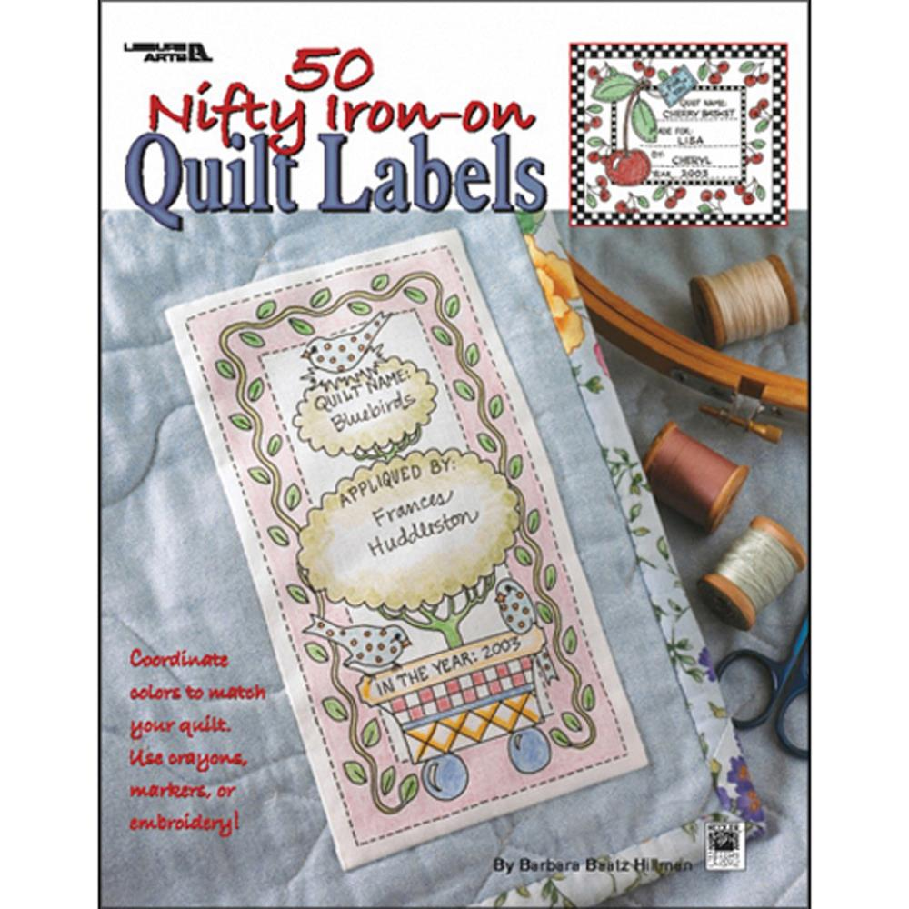 graphic regarding Printable Quilt Labels named 50 Nifty Iron-Upon Quilt Labels